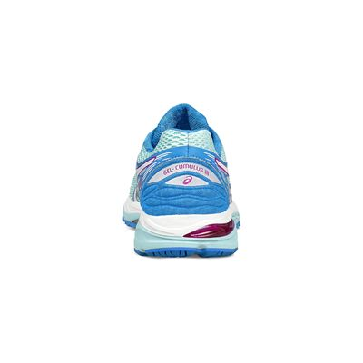 Asics Gel-Cumulus 18 Ladies Running Shoes-blue-top