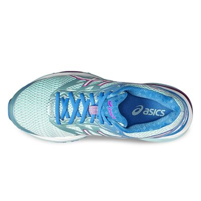 Asics Gel-Cumulus 18 Ladies Running Shoes-blue-up