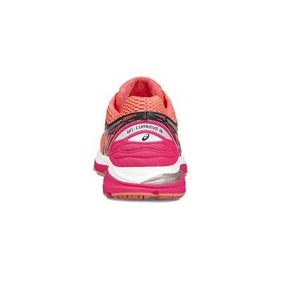 Asics Gel-Cumulus 18 Ladies Running Shoes-red-heel