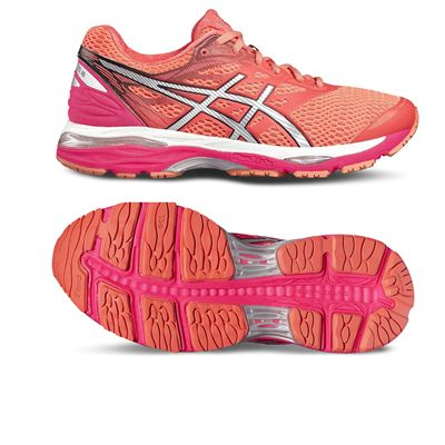 Asics Gel-Cumulus 18 Ladies Running Shoes-red-main