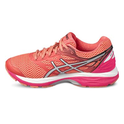 Asics Gel-Cumulus 18 Ladies Running Shoes-red-side2