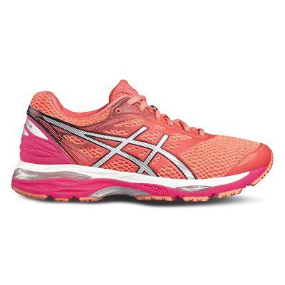 Asics Gel-Cumulus 18 Ladies Running Shoes-red-side
