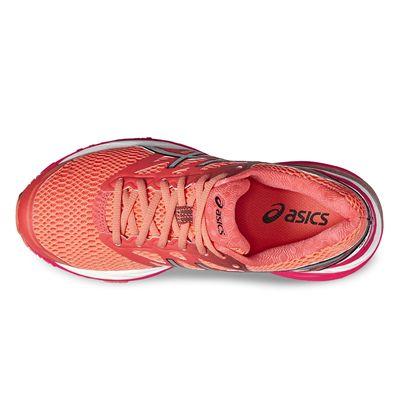 Asics Gel-Cumulus 18 Ladies Running Shoes-red-top
