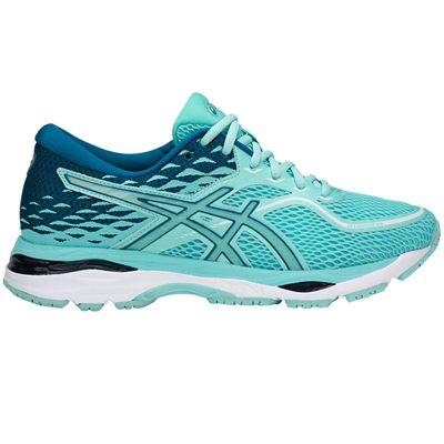 Asics Gel-Cumulus 19 Ladies Running Shoes SS18 - Green - Side