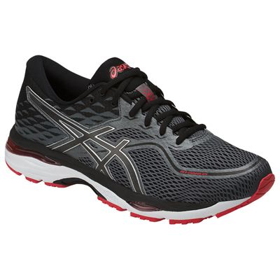 Asics Gel-Cumulus 19 Mens Running Shoes SS18 - Grey - Angled2