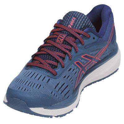 Asics Gel-Cumulus 20 Ladies  Running Shoes - Blue - Angled