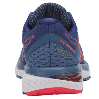Asics Gel-Cumulus 20 Ladies  Running Shoes - Blue - Back