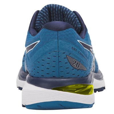 Asics Gel-Cumulus 20 Mens Running Shoes - Blue - Back