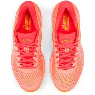 Asics Gel-Cumulus 21 Ladies Running Shoes - Coral - Above