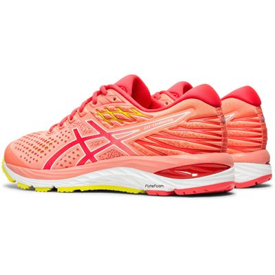 Asics Gel-Cumulus 21 Ladies Running Shoes - Coral - Angle