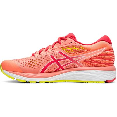 Asics Gel-Cumulus 21 Ladies Running Shoes - Coral - Side
