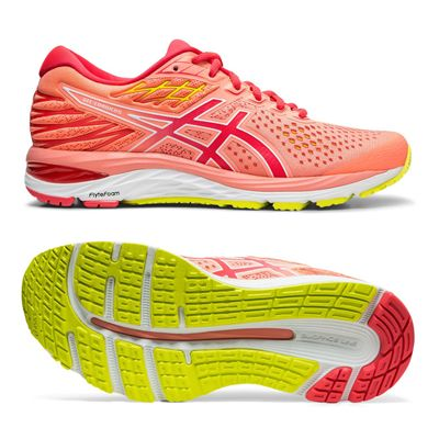 Asics Gel-Cumulus 21 Ladies Running Shoes - Coral