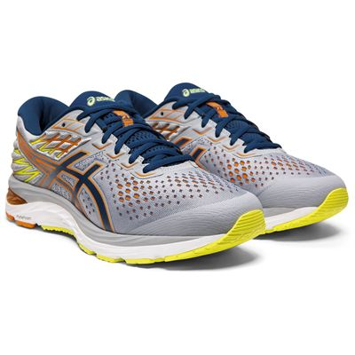 Asics Gel-Cumulus 21 Mens Running Shoes -  Grey - Slant