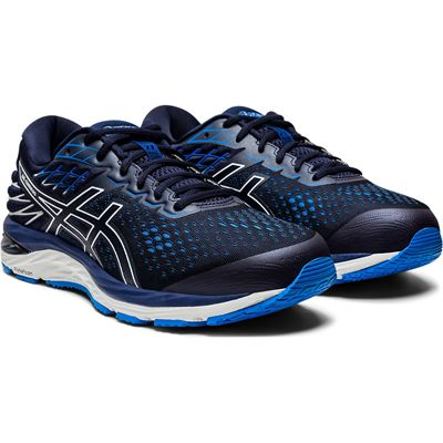Asics Gel-Cumulus 21 Mens Running Shoes SS20 - Navy - Slant