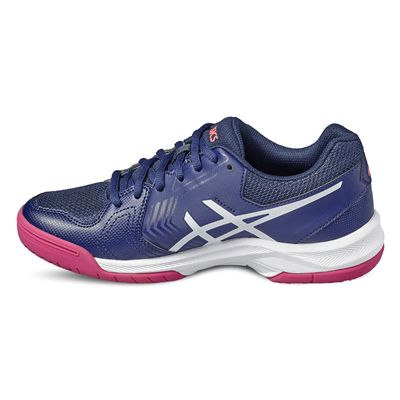 Asics Gel-Dedicate 5 Ladies Tennis Shoes-blue-side2