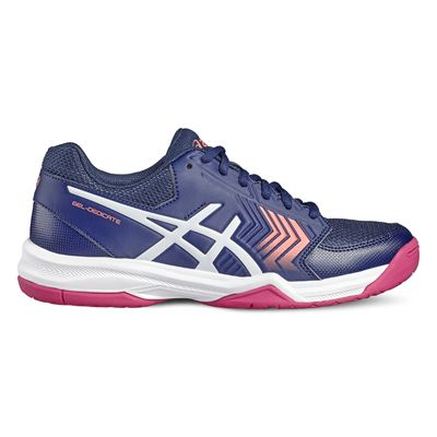 Asics Gel-Dedicate 5 Ladies Tennis Shoes-blue-side