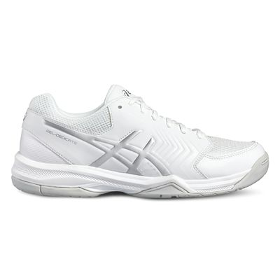 Asics Gel-Dedicate 5 Ladies Tennis Shoes-white-side
