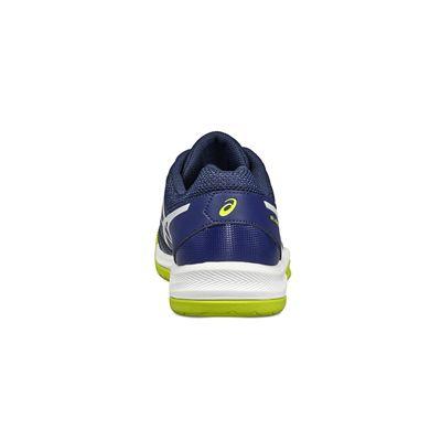 Asics Gel-Dedicate 5 Mens Tennis Shoes-blue-heel
