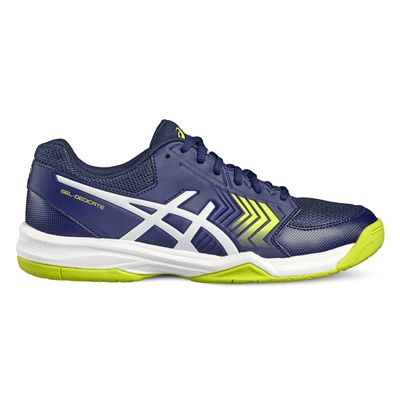 Asics Gel-Dedicate 5 Mens Tennis Shoes-blue-side