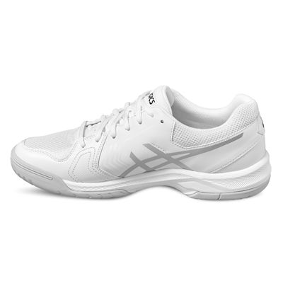 Asics Gel-Dedicate 5 Mens Tennis Shoes-white-angle
