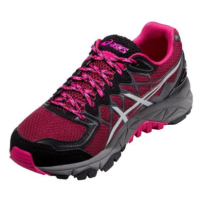 Asics Gel-Fuji Trabuco 4 Ladies Running Shoes - Perspective View