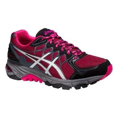 Asics Gel-Fuji Trabuco 4 Ladies Running Shoes - Side View