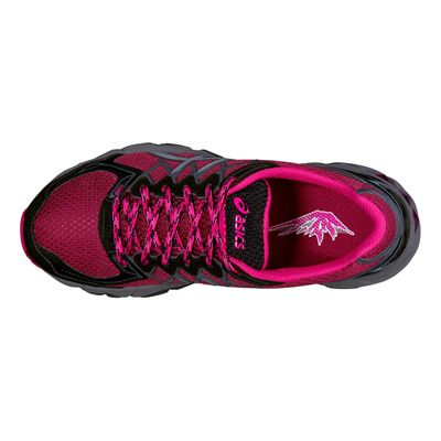 Asics Gel-Fuji Trabuco 4 Ladies Running Shoes - Top View