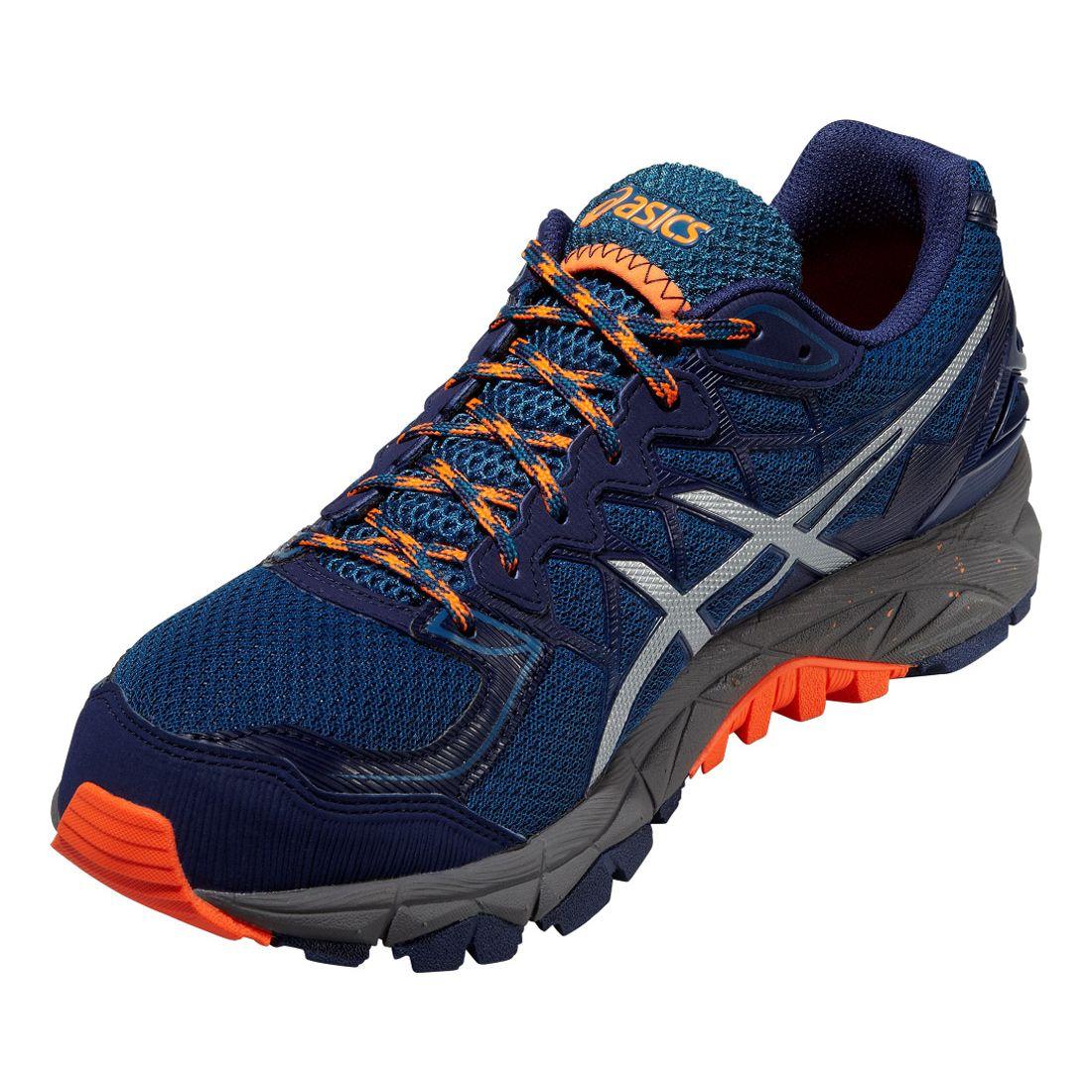 asics mens gel-fuji trabuco trail running shoes review