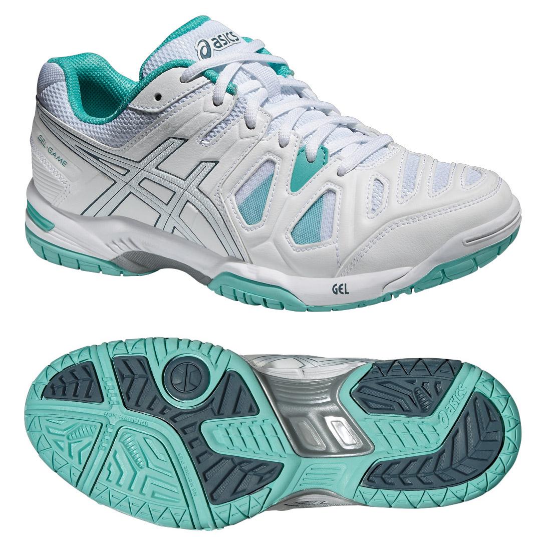 Asics GelGame 5 Ladies Tennis Shoes  7.5 UK