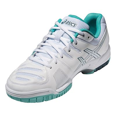 Asics Gel-Game 5 Ladies Tennis Shoes Angle View