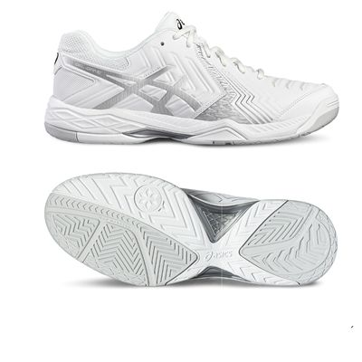 Asics Gel-Game 6 Ladies Tennis Shoes-white-main