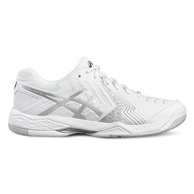 Asics Gel-Game 6 Ladies Tennis Shoes-white-side