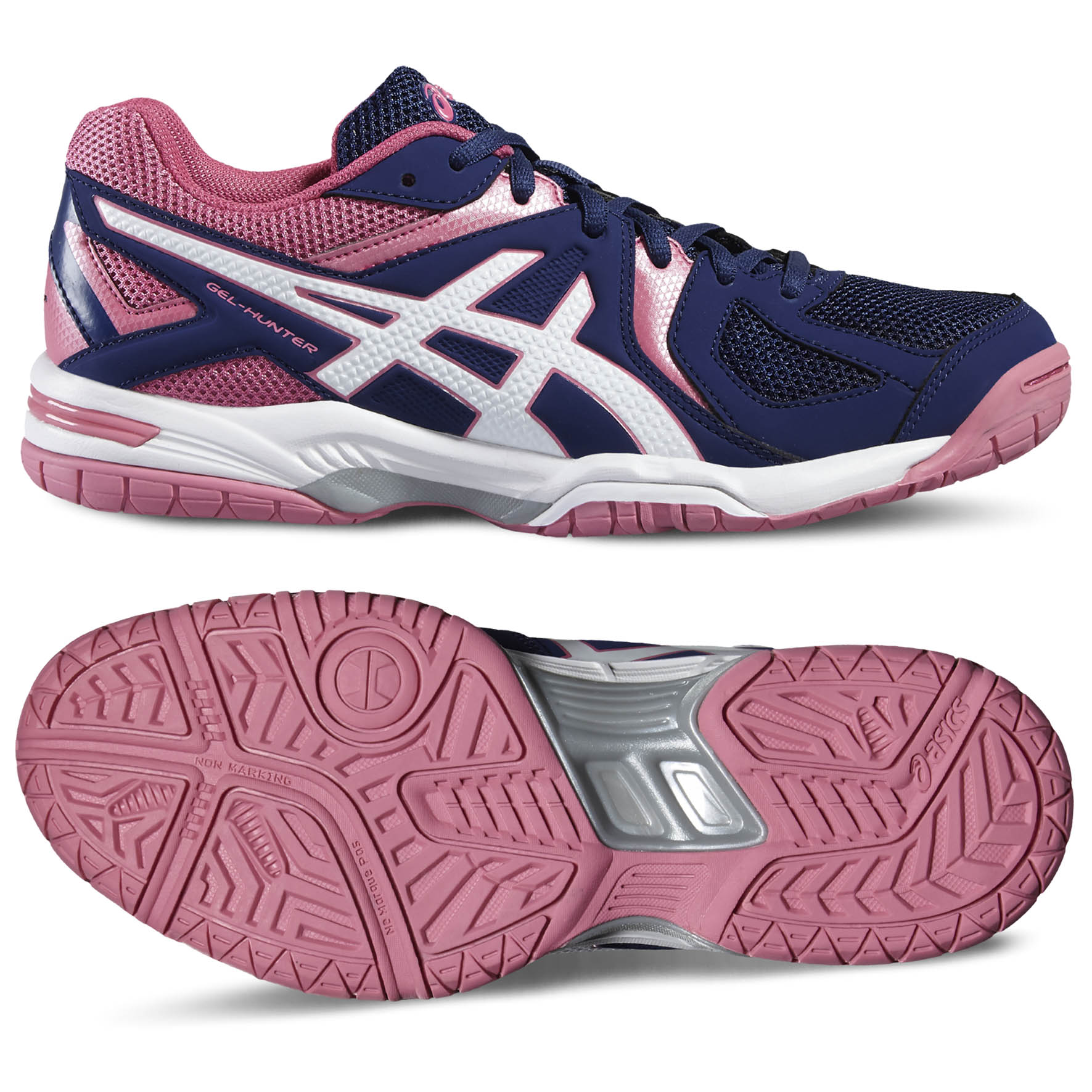 chaussures asics femme indoor gel hunter 3