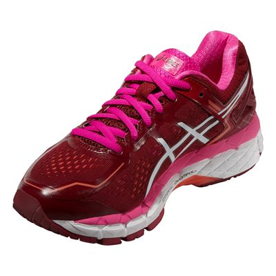 Asics Gel-Kayano 22 Ladies Running Shoes SS16 Angle View