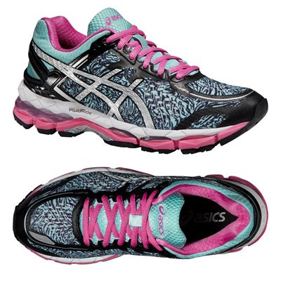 Asics Gel-Kayano 22 Lite-Show Ladies Running Shoes - Alternative View