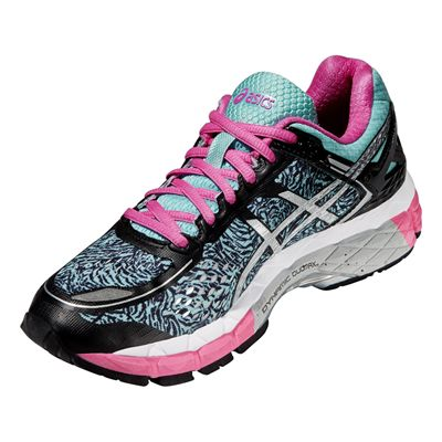 Asics Gel-Kayano 22 Lite-Show Ladies Running Shoes - Angle View