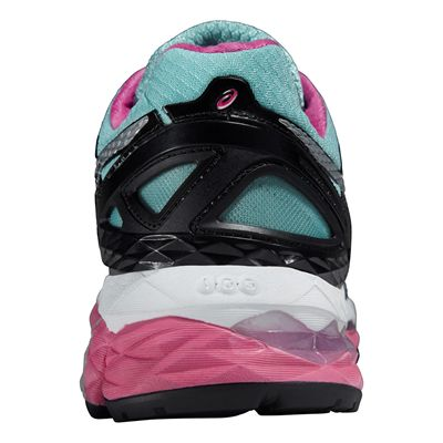 Asics Gel-Kayano 22 Lite-Show Ladies Running Shoes - Back View