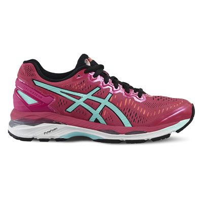 Asics Gel-Kayano 23 Ladies Running Shoes-Pink/Blue/Orange-Side