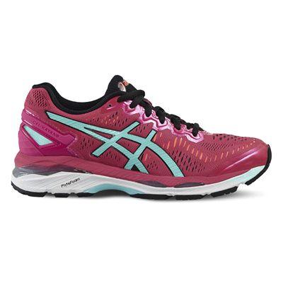 Asics Gel-Kayano 23 Ladies Running Shoes-Pink/Blue/Orange-Side
