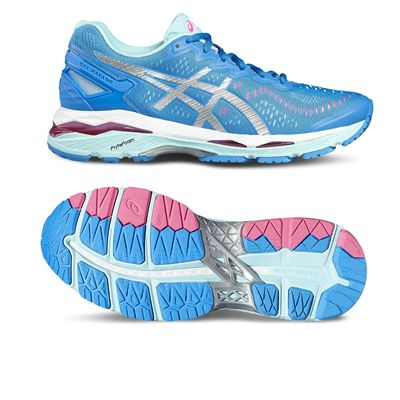 Asics Gel-Kayano 23 Ladies Running Shoes-blue-main