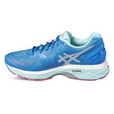 Asics Gel-Kayano 23 Ladies Running Shoes-blue-side2