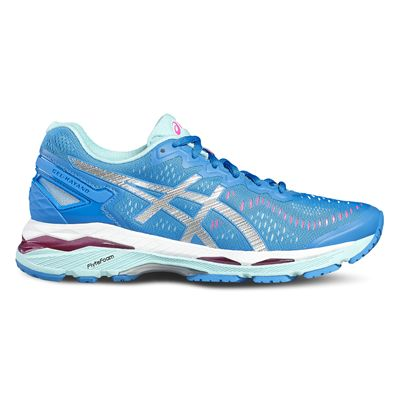Asics Gel-Kayano 23 Ladies Running Shoes-blue-side