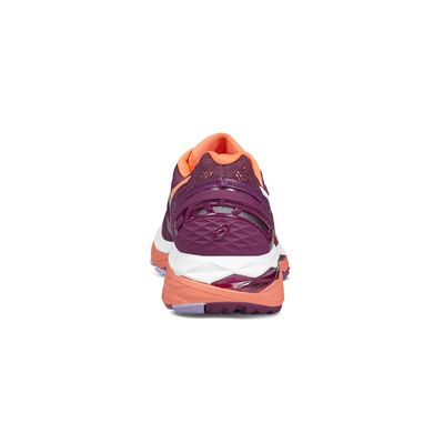 Asics Gel-Kayano 23 Ladies Running Shoes-pink-heel
