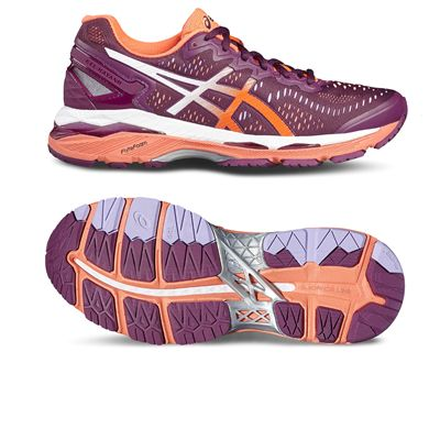 Asics Gel-Kayano 23 Ladies Running Shoes-pink-main