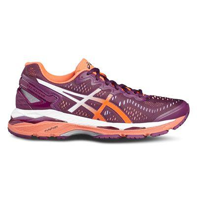 Asics Gel-Kayano 23 Ladies Running Shoes-pink-side