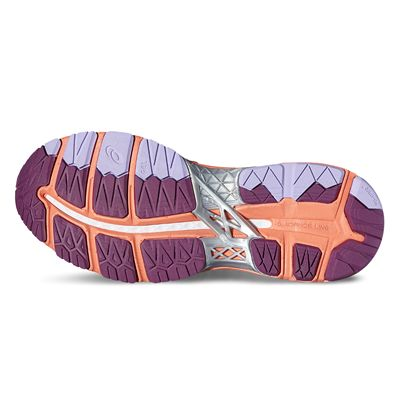 Asics Gel-Kayano 23 Ladies Running Shoes-pink-sole