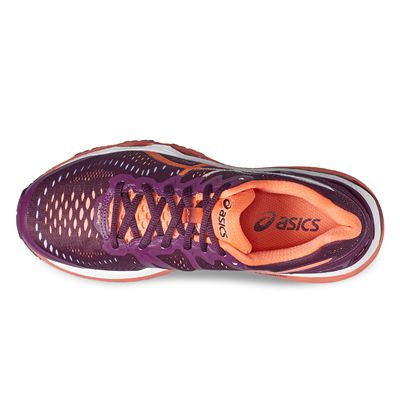 Asics Gel-Kayano 23 Ladies Running Shoes-pink-top