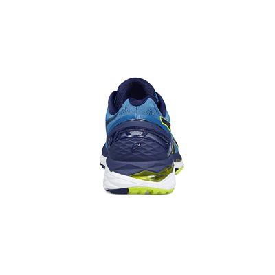 Asics Gel-Kayano 23 Mens Running Shoes-blue-heel