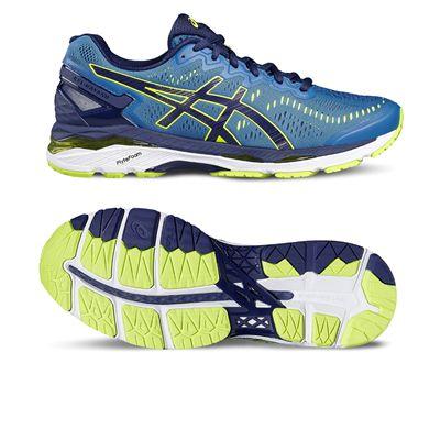 Asics Gel-Kayano 23 Mens Running Shoes-blue-main