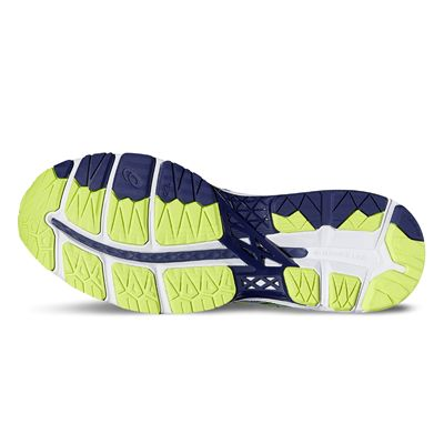 Asics Gel-Kayano 23 Mens Running Shoes-blue-sole